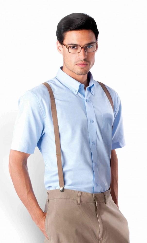 Košile pánská KARIBAN OXFORD krátký rukáv  d926f38bb8